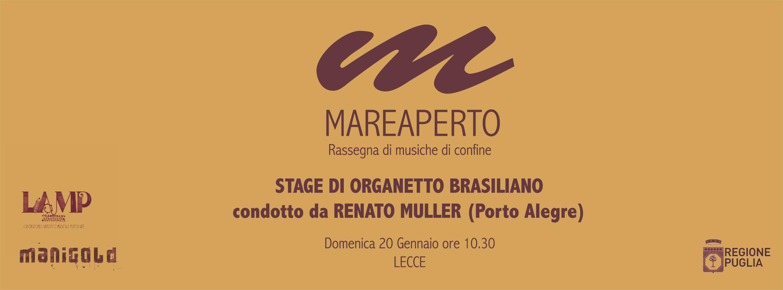 Stage di organetto brasiliano a Lecce