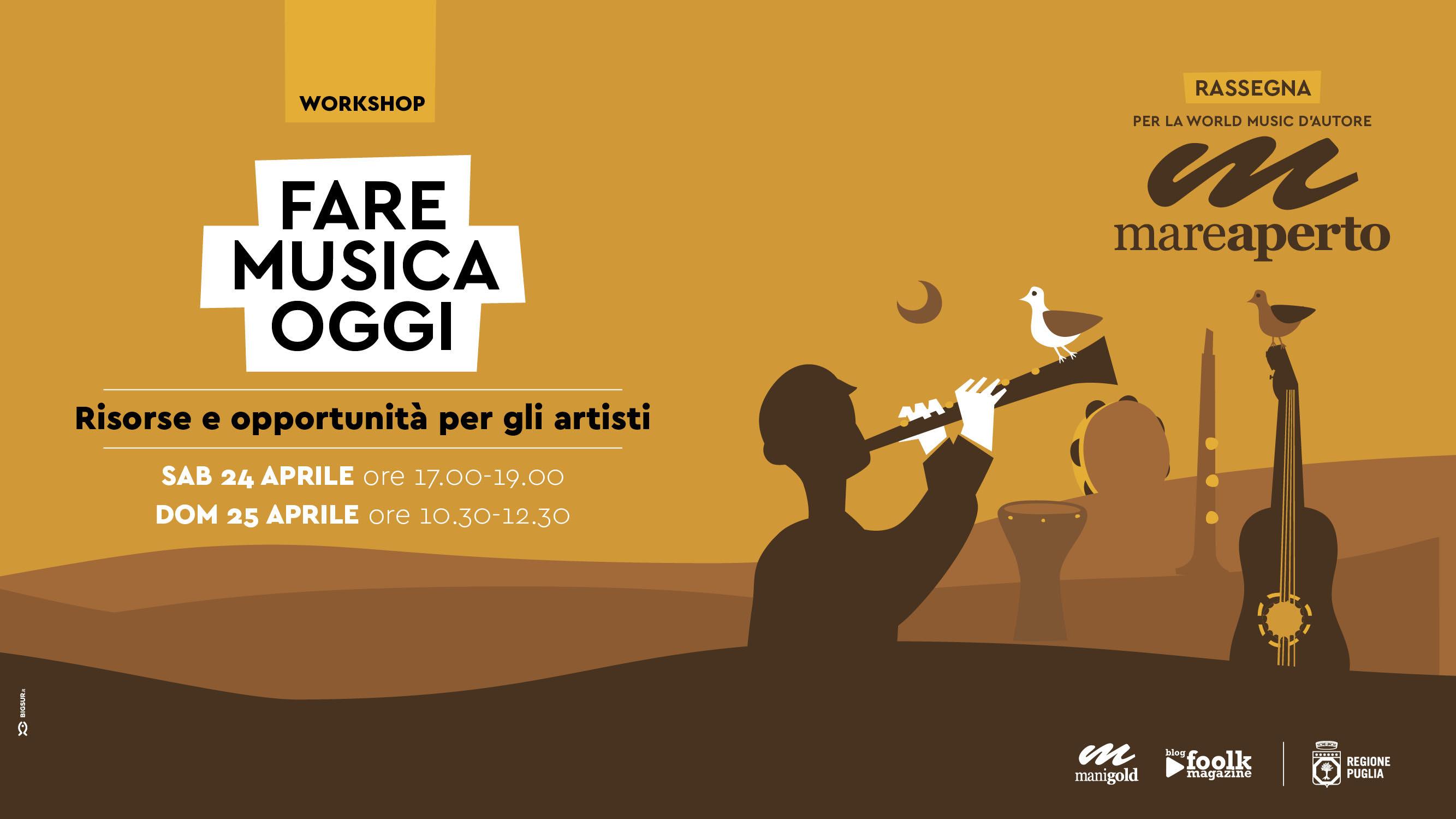 Workshop: Fare musica oggi
